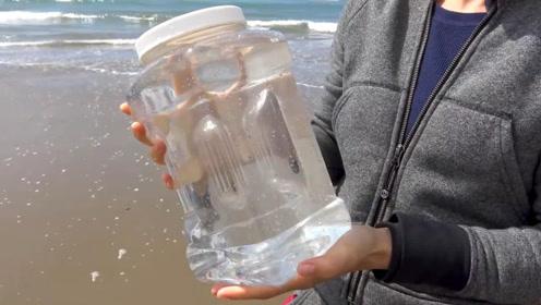 海水为啥不能直接喝?把它烧开看看,结果终于明白了!