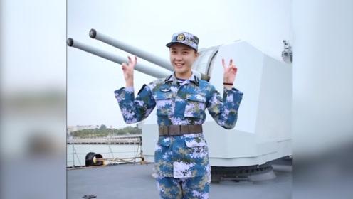 """海军小姐姐出镜科普""""神州第一舰"""":曾是王牌战舰、号称魔改一号"""