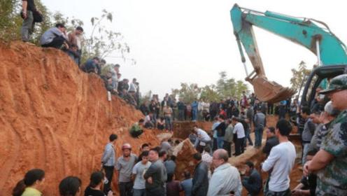 山东土包出现奇怪的黑洞,考古专家勘探后:原来是皇太后的墓碑