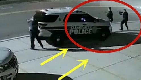 男子暴打女友,女友报警男子声称不怕警察,与警察发生枪战身中16枪!