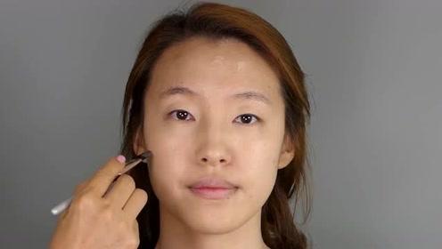 普通妹子大改造,化妆修颜后,也是大家心中女神