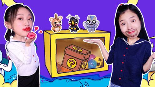 奥特曼的怪兽冒险箱!是找到小怪兽还是挑战大冒险?