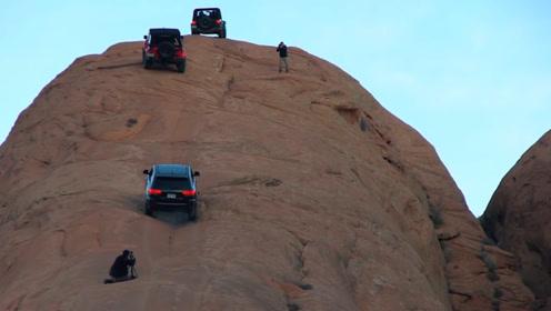 在这个山坡驾驶汽车,刹车失误等于死亡,道路崎岖不平开车像坐轿
