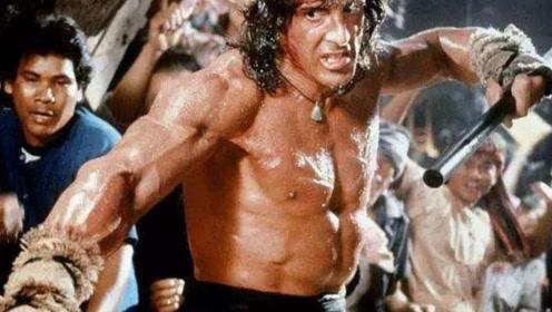 硬汉年轻形象大比拼!史泰龙帅气,巨石强森凶猛,他最有男人味!