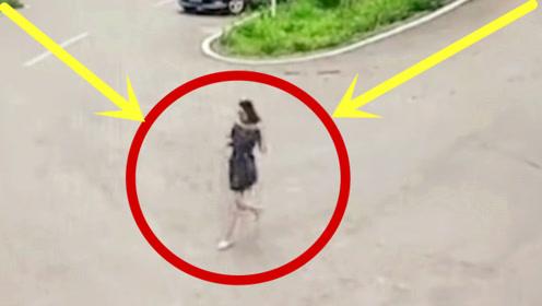 美女上坡小解,突然感觉不对劲,5秒后的画面太可怕了!