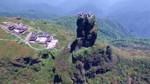 """贵州深山隐匿了一座""""天空之城"""",被美国媒体称为不可思议的建筑"""