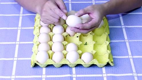 鸡蛋买来怎么保存?学会这一招不用放冰箱,省时省电,真实用