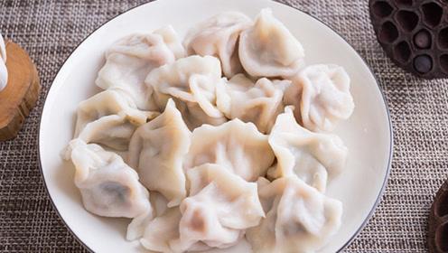 厨师教学饺子做法,醇厚浓汁,皮包馅嫩,味道鲜美,一斤不够吃