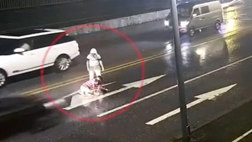 情侣马路争吵女子被撞身亡 男子负主责已被批捕