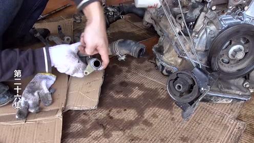 发动机主体终于组装完成了,你知道发动机的组装流程了吗