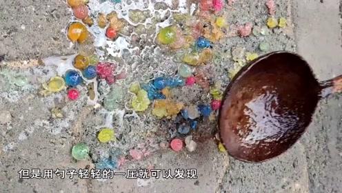 奇葩作死实验:印度小伙脑洞大开,油炸水宝宝,竟然变成了这样
