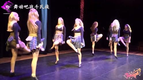 """欧洲女孩跳踢踏舞轻盈得像一阵风!网友:这就是""""种族天赋""""吧"""
