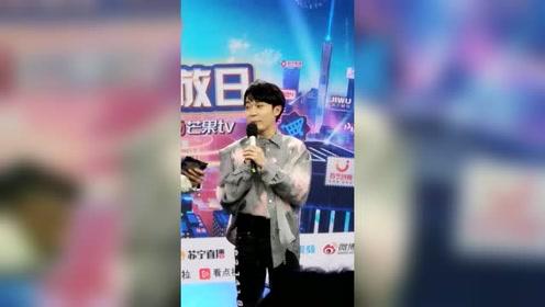 吴青峰现场清唱简直神仙嗓音 再三表示这真的是真唱哦