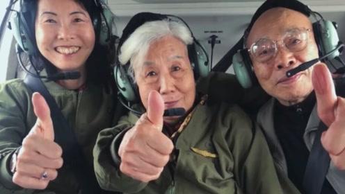 中国第二批女飞行员、82岁重返蓝天的苗晓红 这样为人民空军庆生