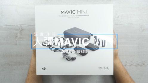 """大疆MAVIC MINI深度开箱:""""249克""""机重,让你想飞就飞?"""
