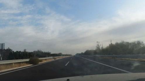 大疆运动相机拍摄的大范围公路延时摄影,动感炫酷