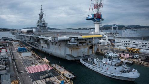 核动力航空母舰性能强悍?法国的戴高乐号航空母舰恐怕是个意外