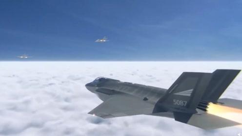 """俄飞行员戏耍下F-35A,用图-160以2马赫的速度与其""""飙机"""""""
