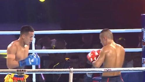 中国21岁新星一晚连胜三人,连续两次KO对手,夺得金腰带