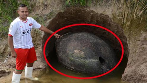 """男子发现奇怪""""石头"""",全身蛇鳞状,走近一看吓得立马报警"""