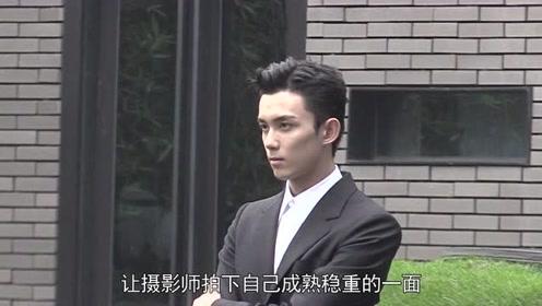 吴磊身穿黑色西装挑战成熟稳重风    霸总气质上身超会凹造型