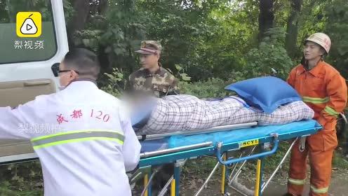 7旬老人不慎落水,身上的羽绒服救了他一命,消防沿途追奔