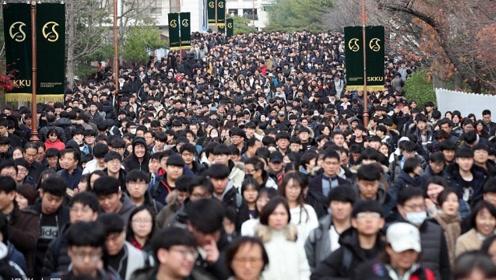 拼了!韩国高考英语听力时段 全国机场将暂停起降35分钟