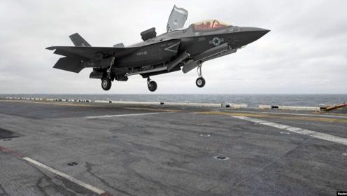 超近距围观F-35B,一架8个亿,垂直起降超犀利