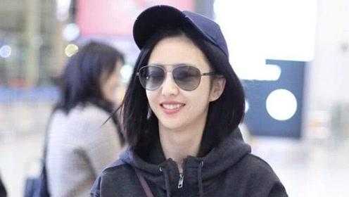 佟丽娅现身,穿休闲运动装戴鸭舌帽,36岁的人26岁的气质