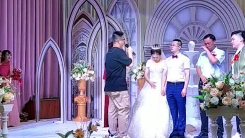 婚礼上突然出现的这个男人,大家都哭了!