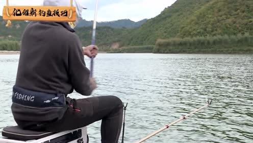 老化把竿都倒插在水里了,结果钓上来一看这鱼,自己都忍不住笑了
