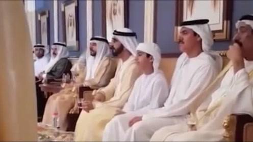 迪拜贵族的平日生活,真是贫穷限制想象力啊!