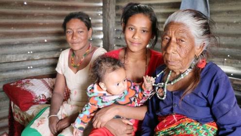 尼泊尔的一妻多夫家庭,妻子之间不会害羞吗?看完感到羡慕了
