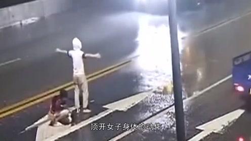 悲痛!广东一小情侣深夜在马路中央争吵,女生被撞身亡