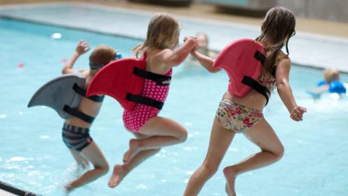 3个极具创意的游泳装备,第1个是学游泳神器,旱鸭子戴上就能游