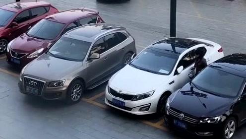 不把车停在正中间,心里就是不舒服!