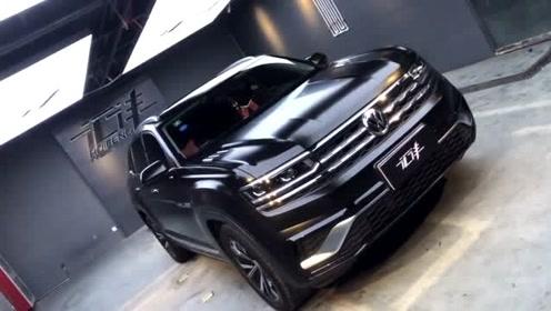 大众SUV换上新装,一身黑色更显霸气!