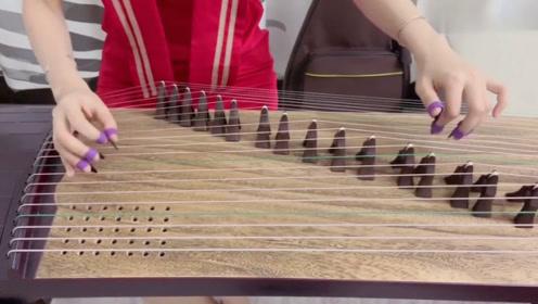 《井冈山》古筝零基础入门自学教程摇指段练习演奏教学