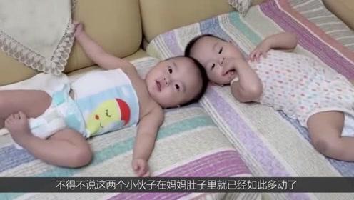 """双胞胎在妈妈的肚子非常调皮,在肚子里""""打架"""",这可苦了妈妈?"""