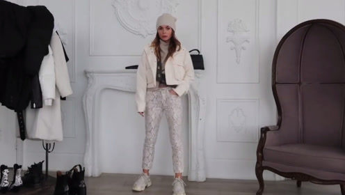时尚博主的冬季穿搭公式