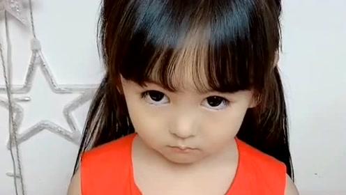 妈妈生气了,看萱萱怎么哄她的,接下来萱萱说的话好可爱,萌萌哒