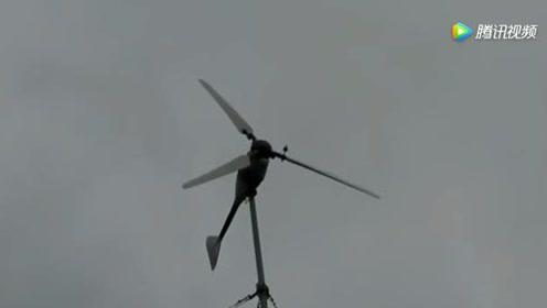 农民在后院装了台风力发电机,却有人上门收电费,气的快哭了