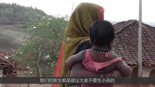 """印度女子生下了""""怪胎""""年仅只有四岁的孩子,却有着80岁的面孔!"""