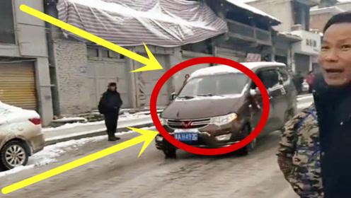 当看到五菱轮胎的那一刻,就知道司机不简单,3秒后才是开始!