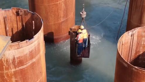 中国人把266吨水泥倒进大海,引发外国人关注:以前没想到这招儿