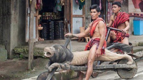 这个土著部落, 交通工具惹人注目, 不像自行车又不像机动车!