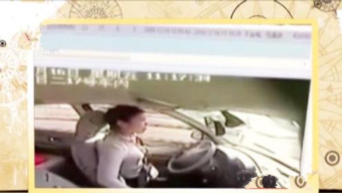 女子想一次性通过驾照考试,不料被扣100分,她直接朝着脸扇耳光