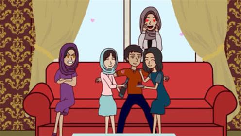 18岁男孩继承千亿资产,为了找寻存在感,一口气迎娶了4位妻子!
