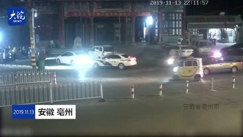 亳州一警察下班后在面馆吃宵夜 顺手抓获一名逃犯