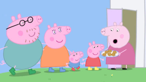 小猪佩奇今天要做一些好吃的饼干来招待自己的好朋友 玩具故事